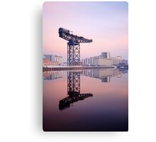 River Clyde reflection Canvas Print