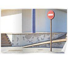 Street Scene Fuerteventura Poster