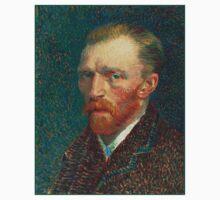 Vincent van Gogh - Self Portrait - Auto Portrait tshirt T-Shirt