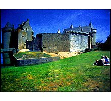 Chateau de Suscinio Photographic Print