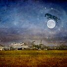 The horse jumped over the moon by Myillusions
