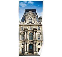 Louvre - Pavillon Turgot Poster