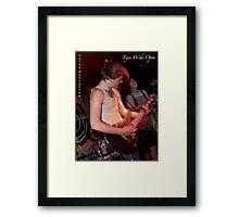 Energetic...musically Framed Print