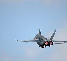 RAAF - FA-18 Take Off by wolfcat