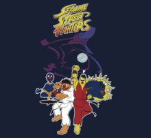 Sesame Street Fighter by Faniseto