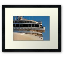 Silver Spirit bridge - Geelong Framed Print