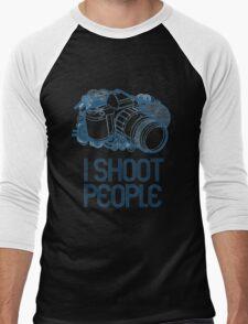 I Shoot People Men's Baseball ¾ T-Shirt