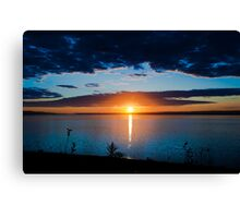 Sunrise in Nova Scotia Canvas Print