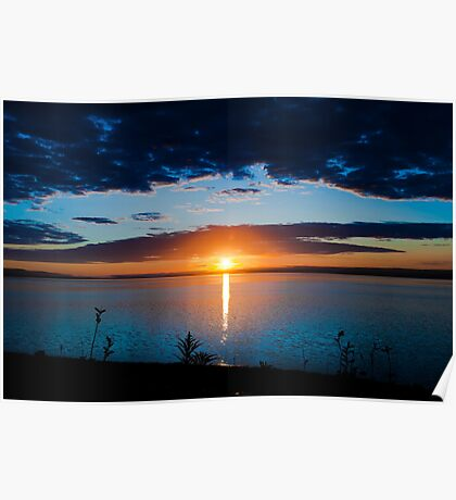 Sunrise in Nova Scotia Poster