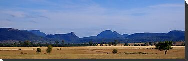 Warrumbungles by Penny Kittel