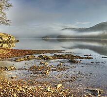 Early Morning By Coniston Water by Jamie  Green