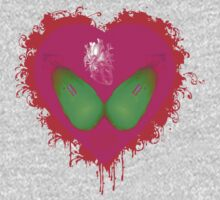 lovebomb iiis evol (blood splatter) by hourevolution