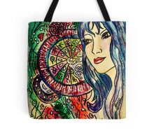 Mapping out Her World... Tote Bag