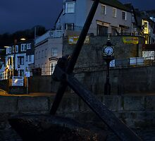 Cobb Gate Lyme Regis  by James  Key
