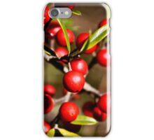 Red Berries iPhone Case/Skin