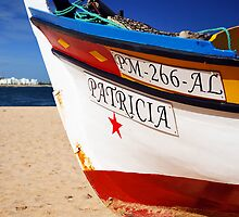 Algarve Fishing Boat by Steve Woods