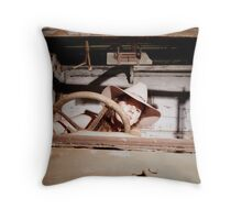 Vintage Chick Throw Pillow