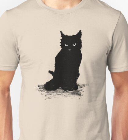 Webster The Cat (Large Version) Unisex T-Shirt