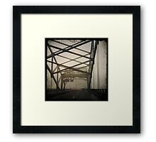 Broadway Bridge - Kansas City, Missouri Framed Print