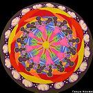 Sand Mandala II by Tanya Newman