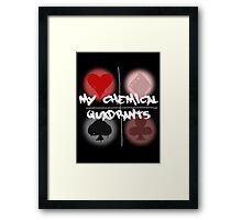 My Chemical Quadrants Framed Print