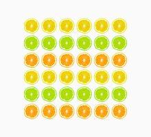 Citrus Lime, Orange, and Lemon Polka Dot Slices Unisex T-Shirt