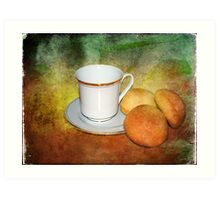 Tea Cup Still Life Art Print