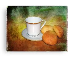 Tea Cup Still Life Canvas Print