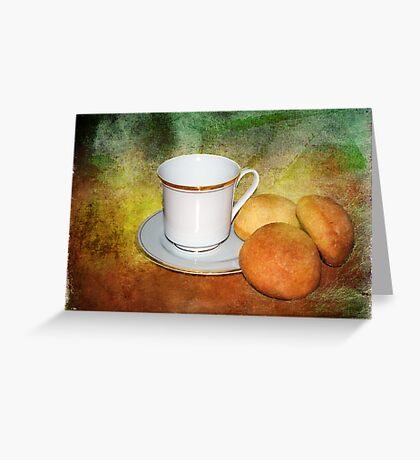 Tea Cup Still Life Greeting Card