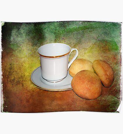 Tea Cup Still Life Poster
