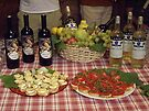 Snack Time in Tuscany by John Carpenter