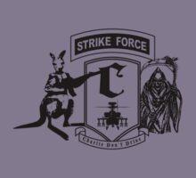 Strike Force Charlie (Black Print Small Logo) by infinitX