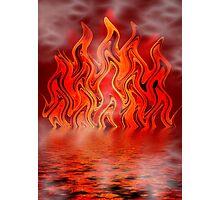Flame Dance Photographic Print