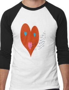 My Heart Can Sing Men's Baseball ¾ T-Shirt