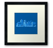 Pixel India Framed Print