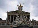 Austrian Parliament Building by Lee d'Entremont
