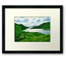 Loch Lomond Peace Framed Print