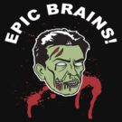 Charlie Sheen Brains by BUB THE ZOMBIE