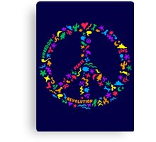 Peace Symbol Canvas Print