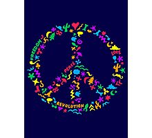 Peace Symbol Photographic Print