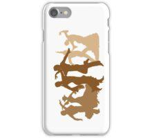 Flamenco Dancers Illustration  iPhone Case/Skin