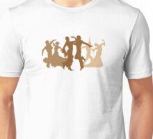 Flamenco Dancers Illustration  Unisex T-Shirt