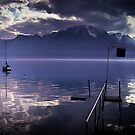 Lake Geneva, Switzerland. by Aj Finan