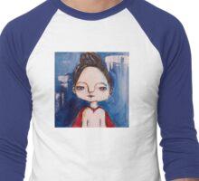 Super Girl Men's Baseball ¾ T-Shirt