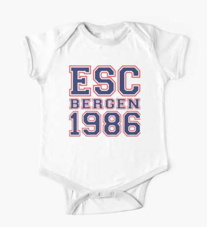 ESC Bergen 1986 [Eurovision] One Piece - Short Sleeve