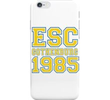 ESC Gothenburg 1985 [Eurovision] iPhone Case/Skin
