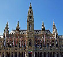 Wiener Rathaus by Lee d'Entremont