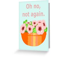 Agrajag Greeting Card