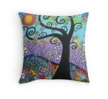 Gone To The Birds Throw Pillow