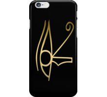 Eye of Horus Egyptian symbol iPhone Case/Skin